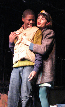 Rudy Bamenga and Guido Girgenti as Collins and Angel